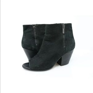 Cole Haan Grand OS Lundy Bootie Open Snake Suede